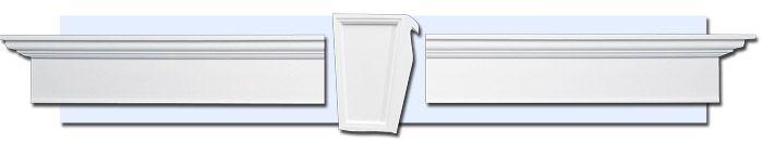 Exterior Window Pediments | exterior window trim hampton