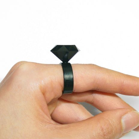 Sillimond Silicone ring in black. An elastic and soft black diamond !!!!! www.scicche.it