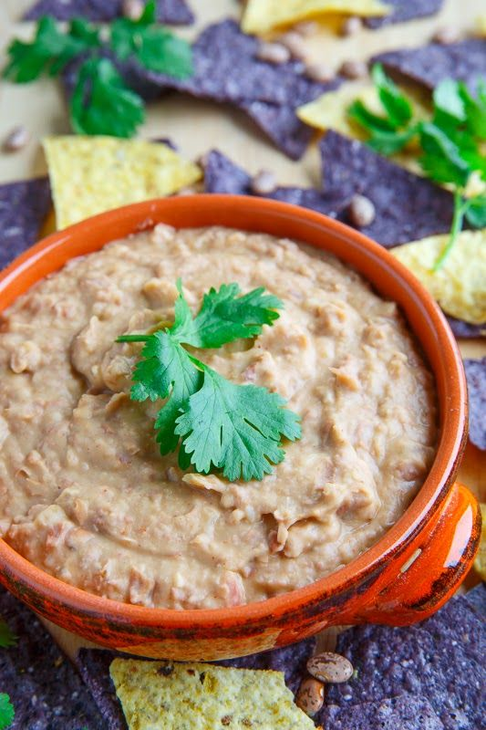 Refried Beans (Frijoles Refritos). Includes recipes for both canned pinto beans and slow cooker dry beans. ♥ Closet Cooking