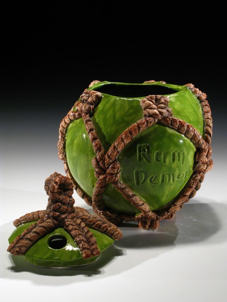 Rum Demon Glass Float (100 made)