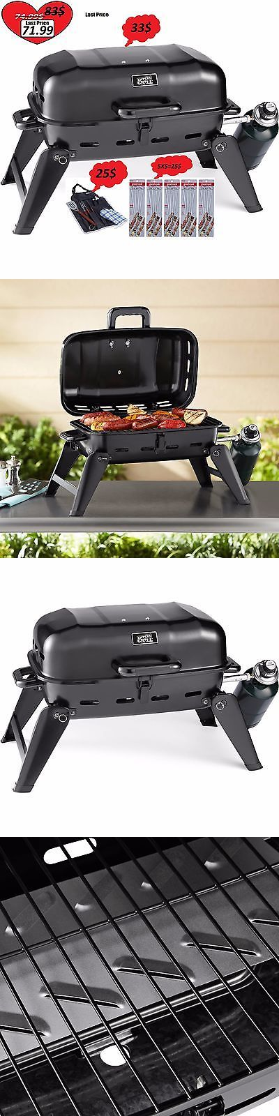 Camping BBQs and Grills 181388: Set Expert Grill Tabletop Gas Grill Barbecues Camping Bbqs Portable -> BUY IT NOW ONLY: $71.99 on eBay!
