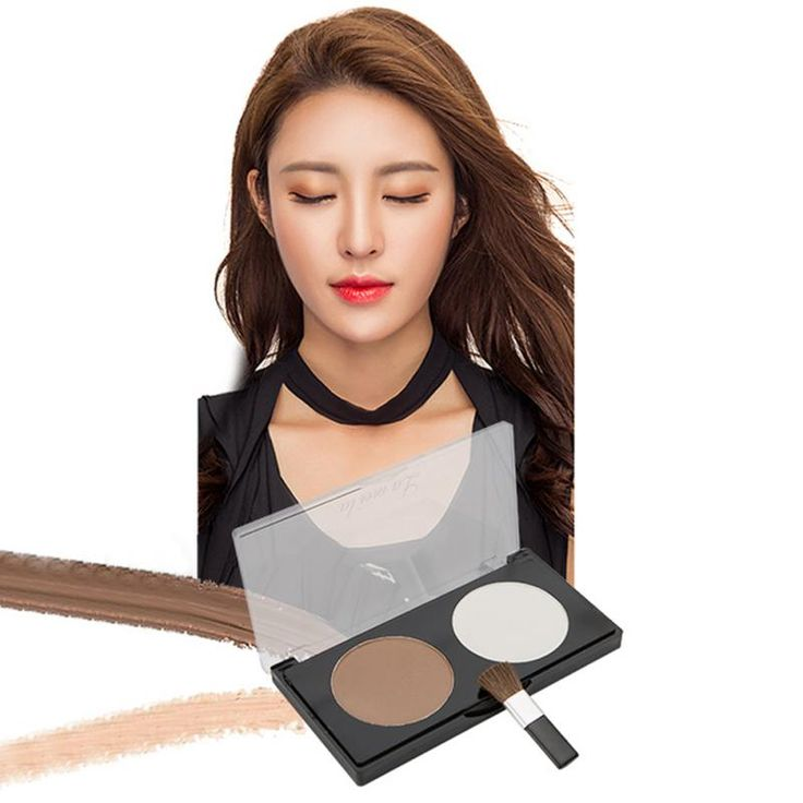 2 Colors Bronzer Highlighter Powder Palette Trimming Powder Make Up Face Cosmetic Contour Pressed Powder Hot Sale