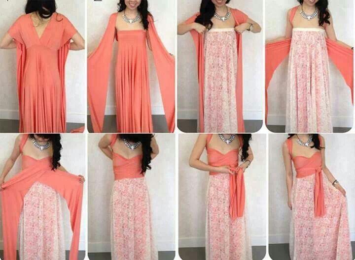 Diy Dress Diy Fashion Pinterest Diy Dress Infinity Dress And Twists