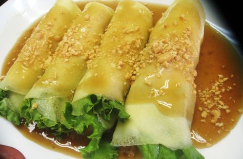 Fresh Lumpia Recipe I so am going to try this! sounds well mmmmmmmm