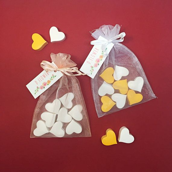 Heart Plaster Air Freshener / Wedding Favors by DFlowerBoutique