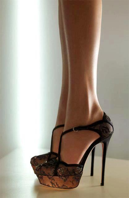 Valentino laced shoes.
