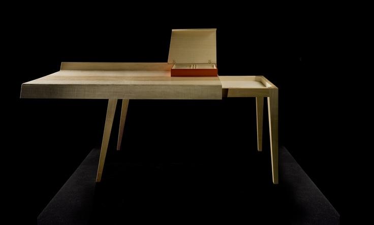 Open desk.