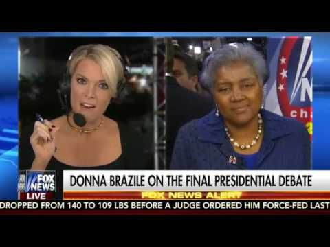 Here you go guys... Words vs this disgrace from Hillary and DNC..  Megyn Kelly Grills Donna Brazile on Democrats Inciting Violence at Trump...