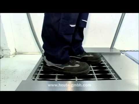 Mycie i dezynfekcja obuwia roboczego maszyna SolaMat 500