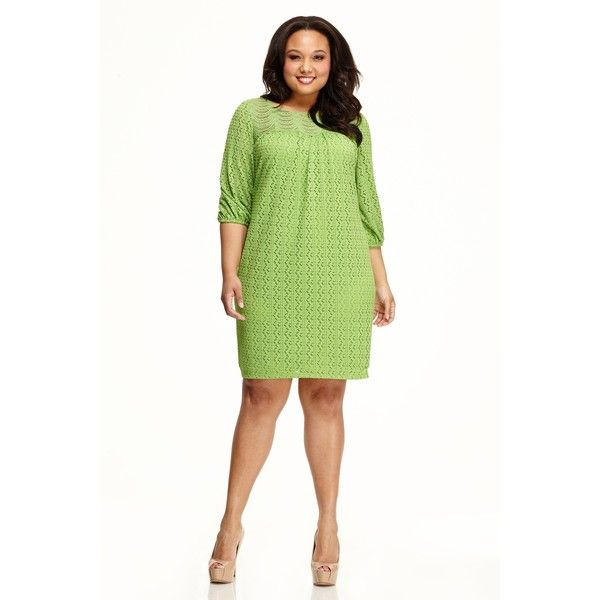 Maggy London London Times Chevron Shift Dress (4,605 INR) ❤ liked on Polyvore featuring plus size women's fashion, plus size clothing, plus size dresses, leaf, plus size, women's plus size dresses, plus size chevron dress, plus size shift dress, plus size white dress and maggy london dresses