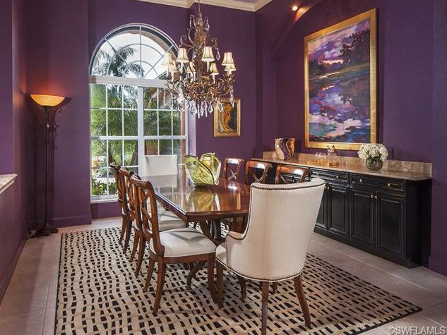25 best ideas about purple dining rooms on pinterest for Purple dining room ideas