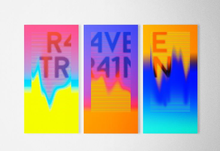 Identity posters for music production.