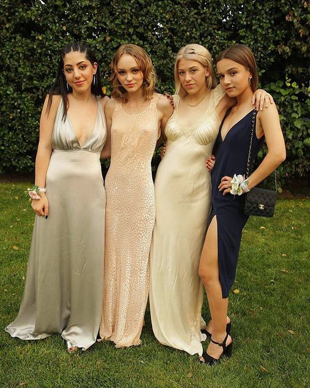 Pin for Later: You'll Want to Turn Back Time and Wear Lily-Rose Depp's Dress to Your Own Prom
