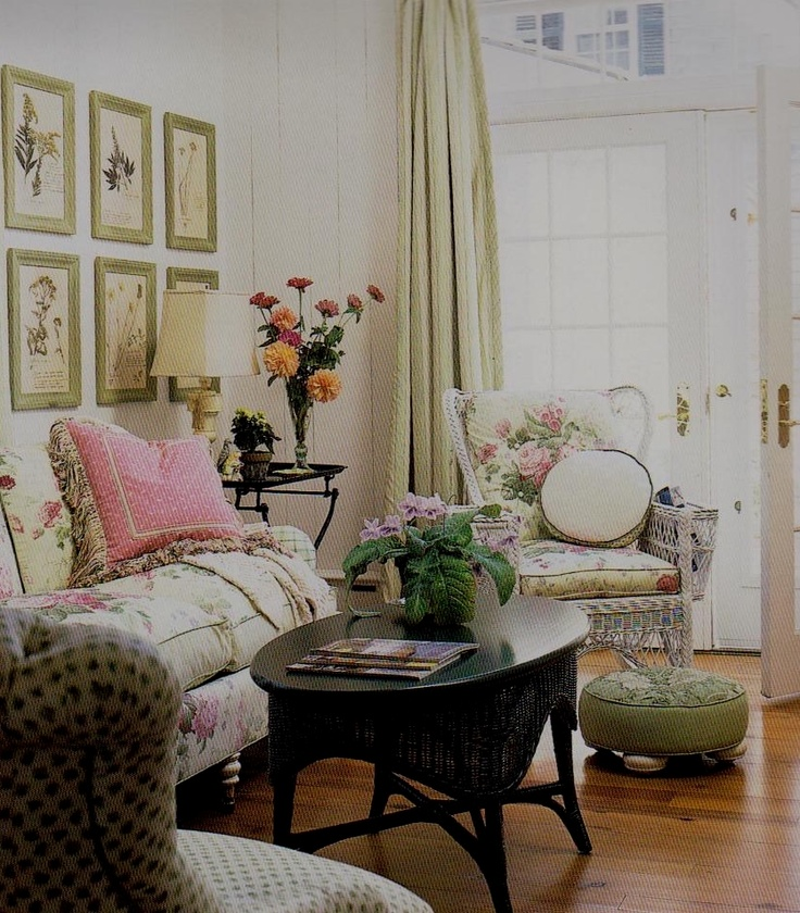 170 Best Vintage Living Rooms Images On Pinterest | Home, Romantic Cottage  And Shabby Chic Living Room