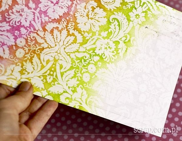 Mania Tuszowania: papier z folią
