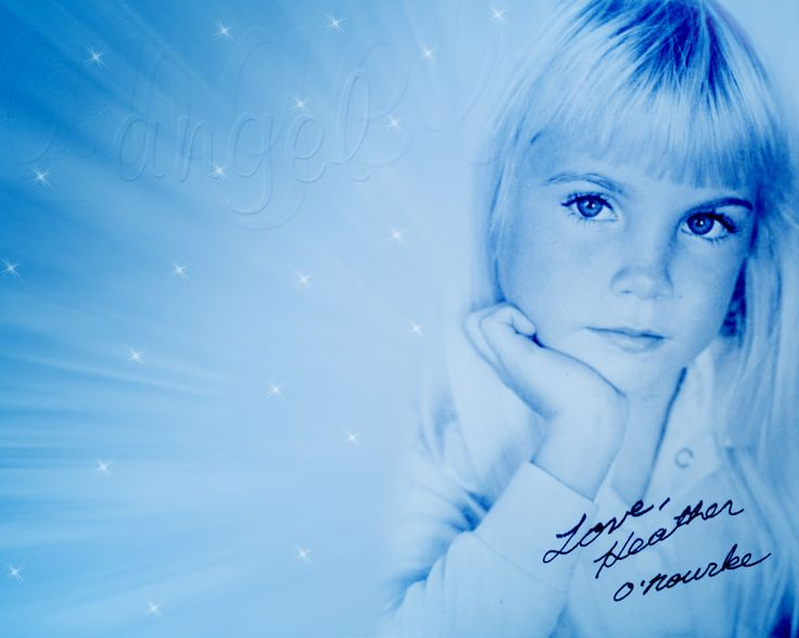 "02/01/88 - HEATHER O'ROURKE (born 12/27/75) was best known for the movie ""Poltergeist"".  She died from cardiac arrest due to a medical error four months before ""Poltergeist III"" was released."