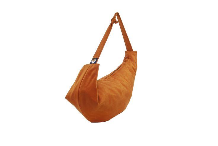 Bax & Bay  Luxury accessories for parents Orange Cotton Bag  www.baxandbay.com www.alegremedia.com #alegremedia