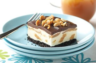 Dessert glacé aux biscuits OREO et au beurre d'arachide - Kraft Canada