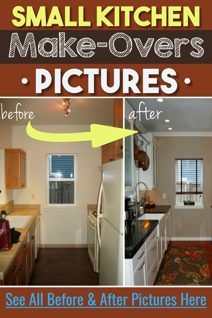 Small Kitchen Ideas on a Budget , Before \u0026 After Remodel