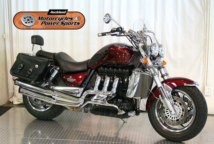 2006 TRIUMPH ROCKET III SE in RED  At Auckland Motorcycles & Power Sports,   New Zealand www.amps.co.nz