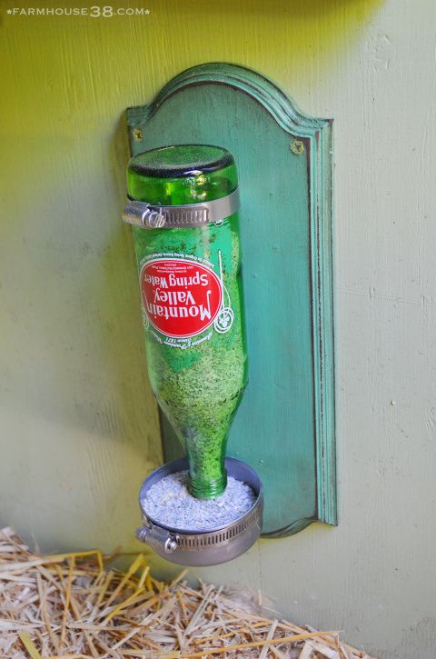 Chicken Grit Dispenser from Farmhouse38