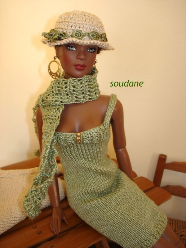 Free Knitting Patterns For Tonner Dolls : SERIE N?25 A LA CHASSE AUX PAPILLONS TONNER DOLLS KNIT ...
