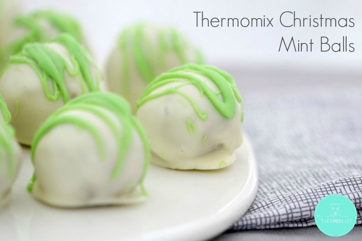 Thermomix Christmas Mint Balls