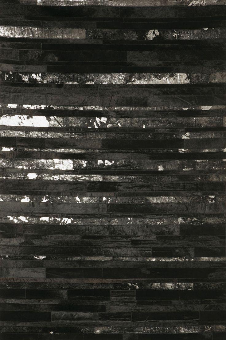 HOOVER Black and Silver rug  #sergelesage