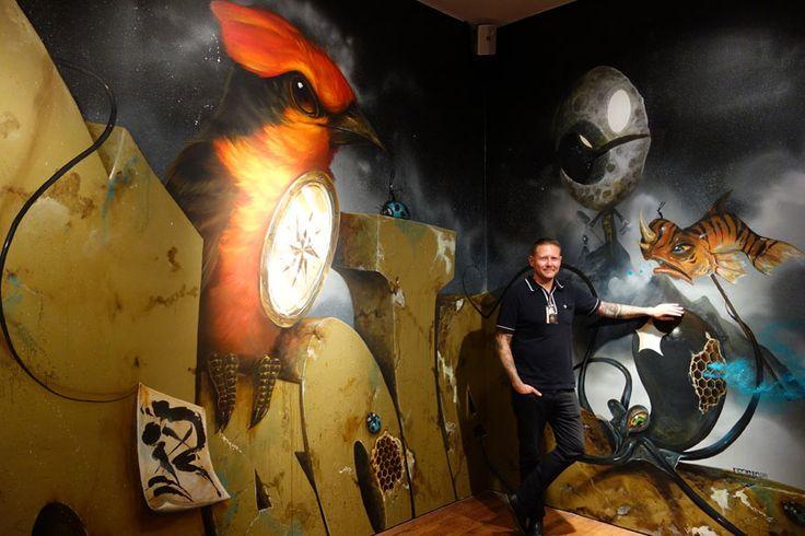 street-artists-paint-museum-walls-vitality-verve-long-beach-museum-art-102-Artwork by Greg 'Craola' Simkins