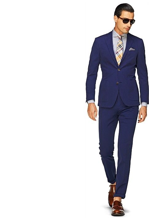 anzug blau unifarben copenhagen p3562 i do not need a. Black Bedroom Furniture Sets. Home Design Ideas