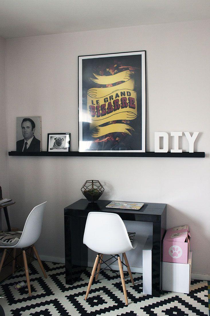 10 meilleures id es propos de tablette murale sur for Etagere murale pour salon