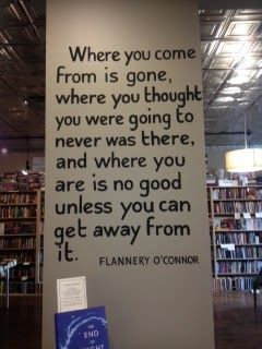 Book Snob: Quote by Flannery O'Connor