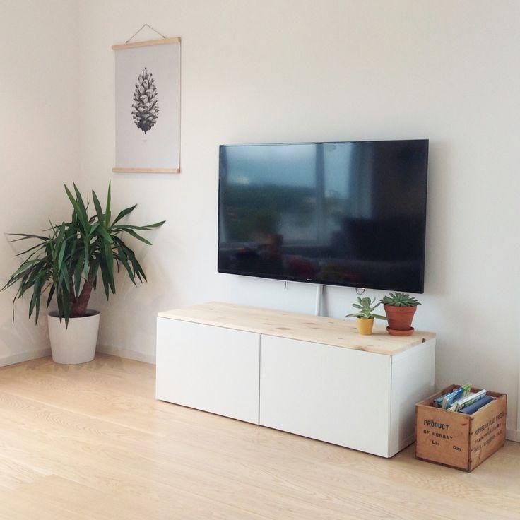 IKEA bestå tv-benk med hobbyplate fra byggmakker
