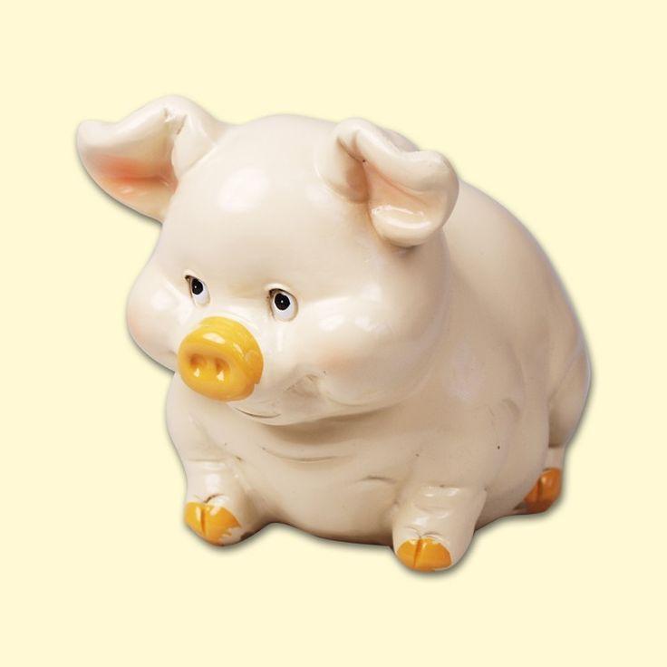 """SHOP-PARADISE.COM:  Spardose """"Schwein"""", Höhe - 9 cm, (P2012-A) 3,35 €"""