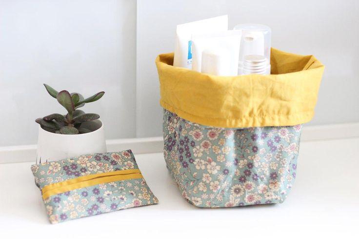 Les DIY Frou-Frou x Mymy Cracra : #2 l'étui à mouchoirs et la corbeille de salle de bain