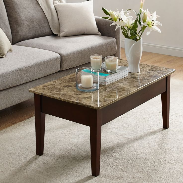Faux Marble Lift Top Coffee Table: Best 25+ Marble Top Coffee Table Ideas On Pinterest