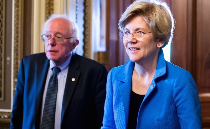 Bernie Sanders and Elizabeth Warren Named to Senate Democratic Leadership Team - http://viralfeels.com/bernie-sanders-and-elizabeth-warren-named-to-senate-democratic-leadership-team/