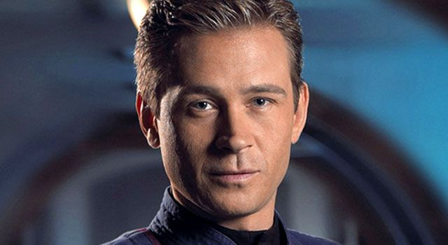 "Connor Trinneer as Charles ""Trip"" Tucker III on Star Trek: Enterprise"