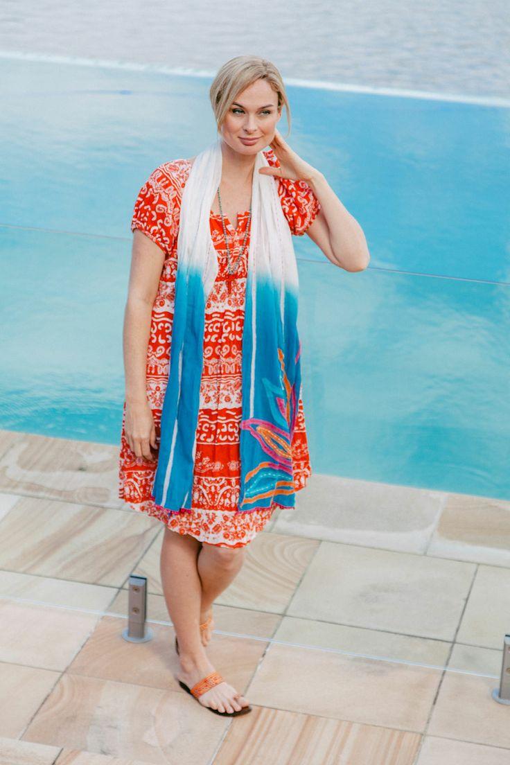 Naudic - Allora Brocade Print Dress size S-XXL
