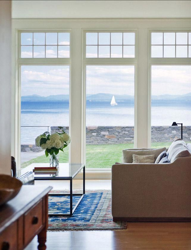 4 Portentous Tips Coastal Furniture Ocean Views Modern Coastal Lighting Coastal Flooring Stairca Beach House Interior Living Room Windows Coastal Living Rooms