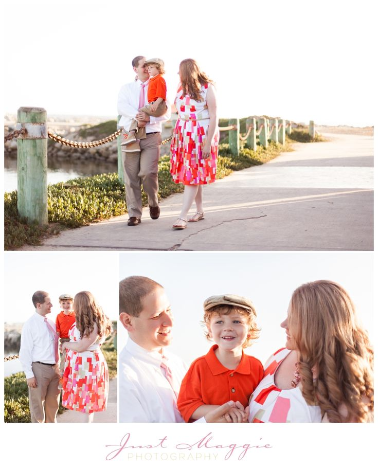 Beach family portraits by just maggie photography los angeles family photographer