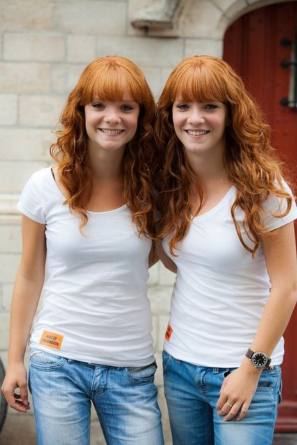 Gorgeous redhead twins - Character inspiration #writing #nanowrimo #face
