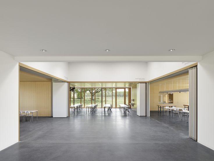 Material verbindet - Schulerweiterung bei Stuttgart