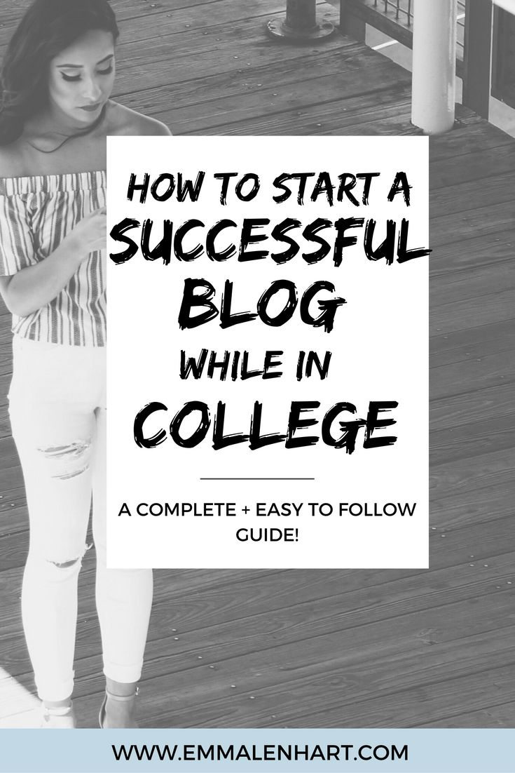 Are you looking to start a blog while in college? Find out exactly how to create a Wordpress blog, get a domain and hosting, set up your blog theme, and more. Click through for a complete guide for starting a blog on EmmaLenhart.com!