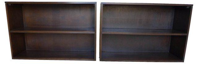 Paul McCobb Midcentury Bookcases, S/2