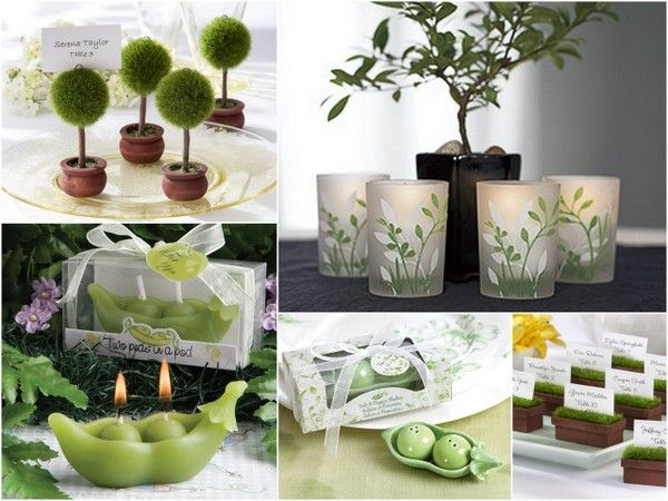Spring Green Wedding Favors from HotRef.com