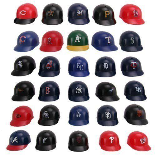 Hard Feelings Major League: 24 Best MLB Mini Plastic Baseball Helmets Images On