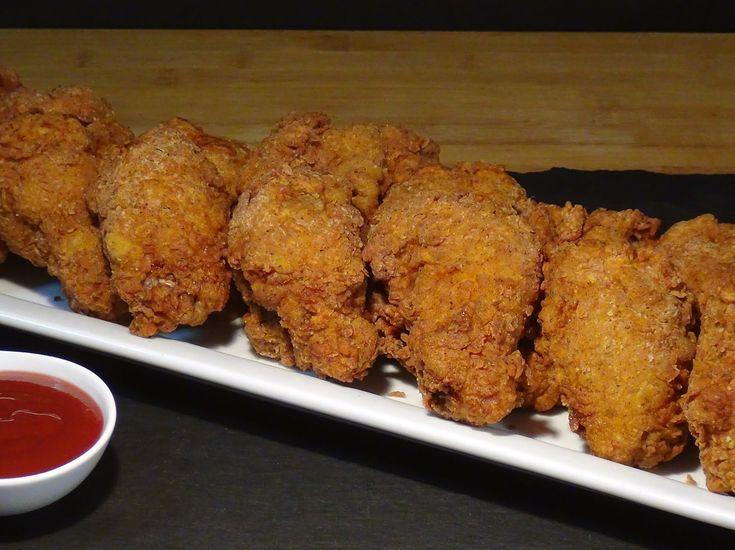 Receta Pollo frito crujiente al estilo americano - Recetas de cocina, pa...
