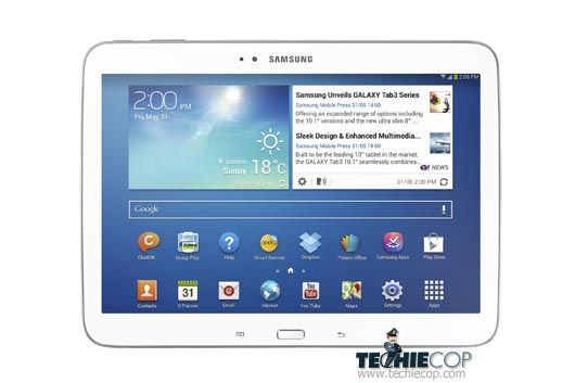 Samsung Galaxy Tab 3–Good tablet but pricier than competition.