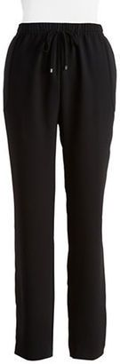 T Tahari Loren Jogger Pants - Shop for women's Pants - Black Pants